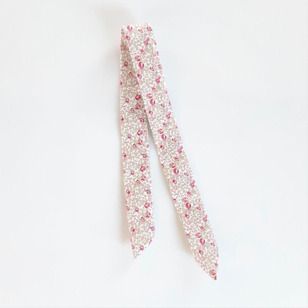 Bracelet à nouer Eloise rose pour cadran montre--2226287738797