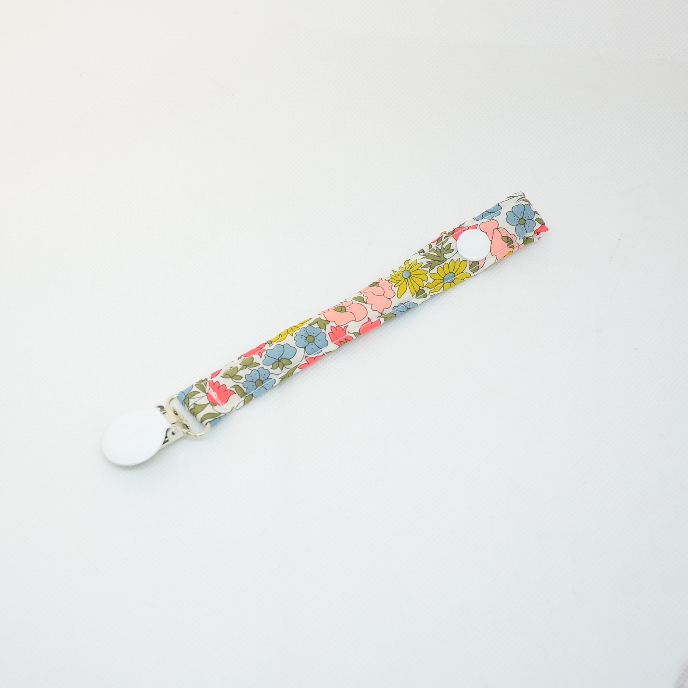 Attache tétine Liberty Poppy and daisy venus--9995923009333