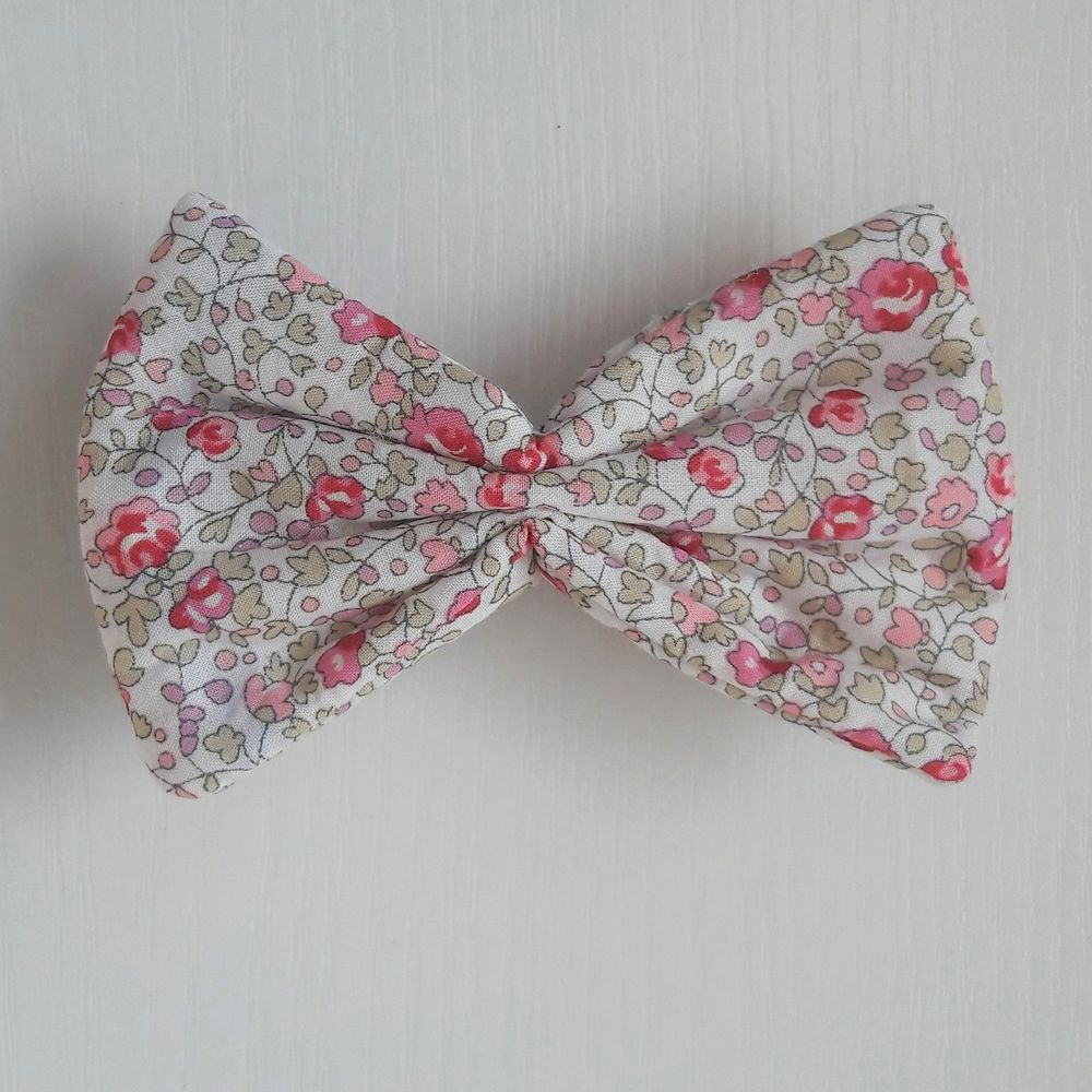 Barette Liberty Eloise rose petite taille--9995232975923