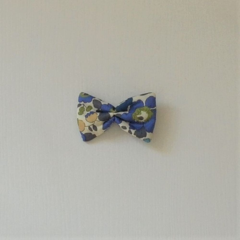 Barrette Liberty Betsy bleu saphir petite taille--9995365063320