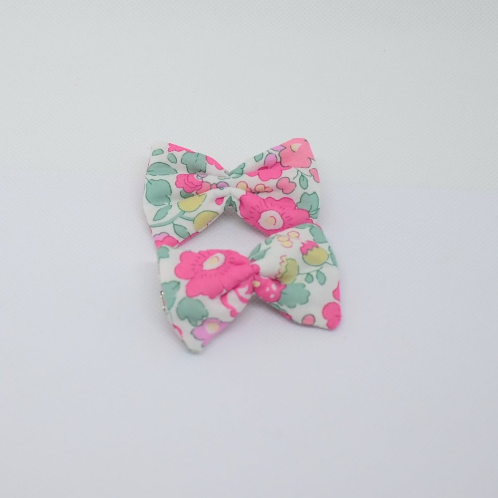 Barrette Liberty Betsy pink and gold petite taille lot de deux--9995566378643