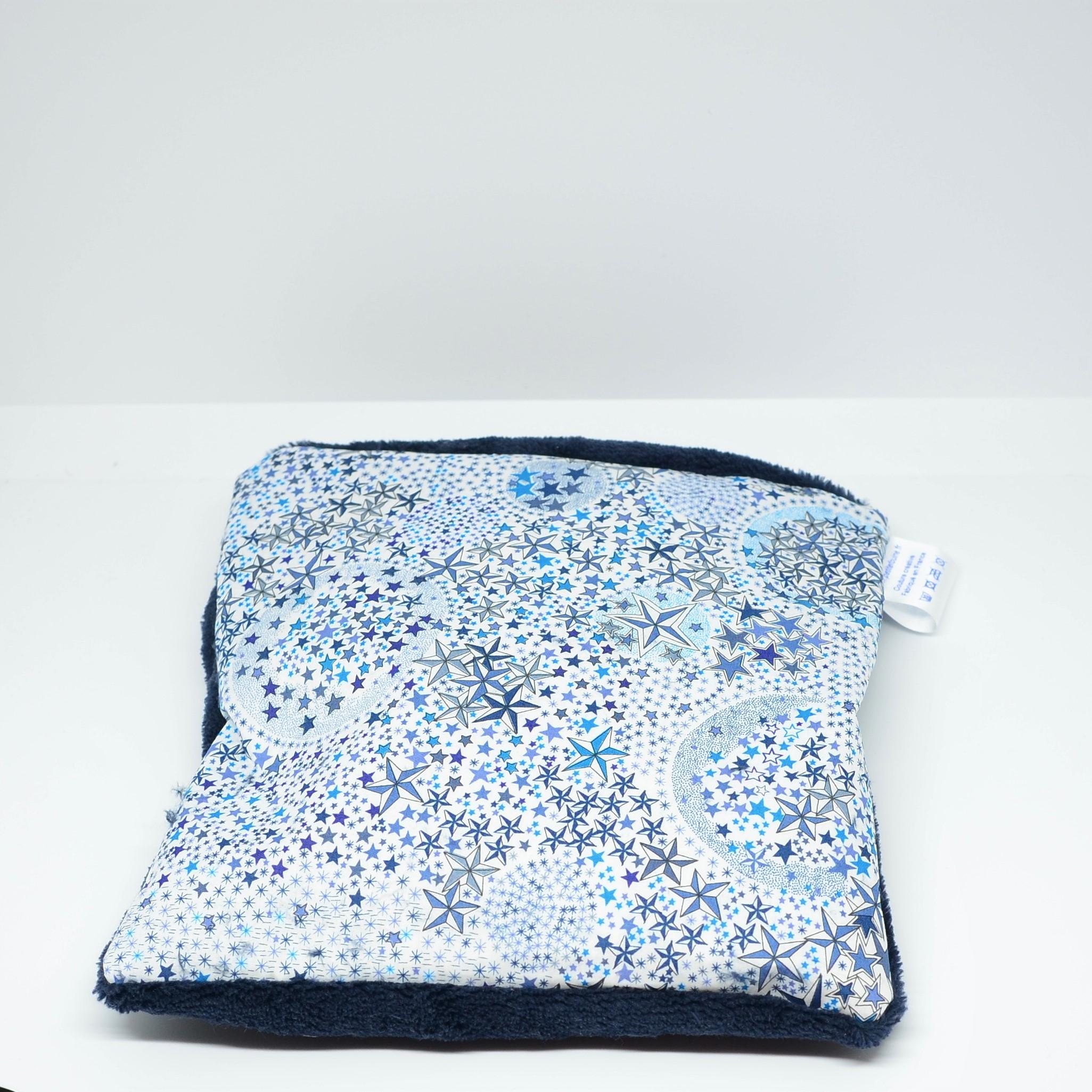 Bouillotte sèche Adelajda bleu--9995747220570