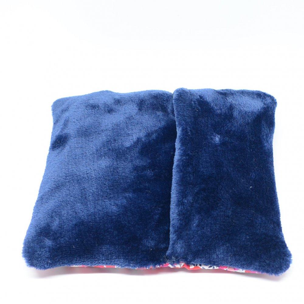 Bouillotte sèche Wiltshire rouge et bleu--9995747216771