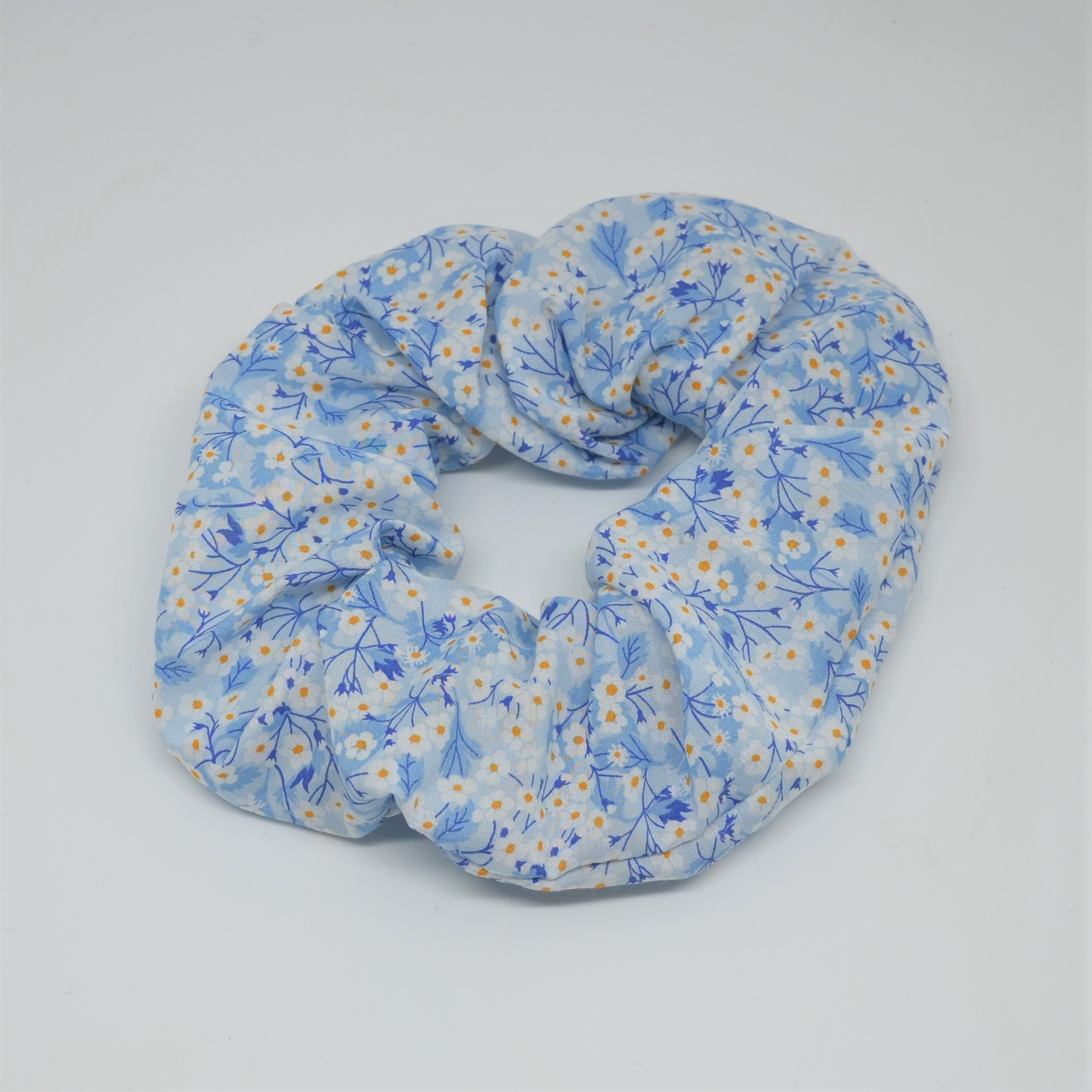 Chouchou cheveux scrunchie liberty Mitsi valeria bleu--9996055198575