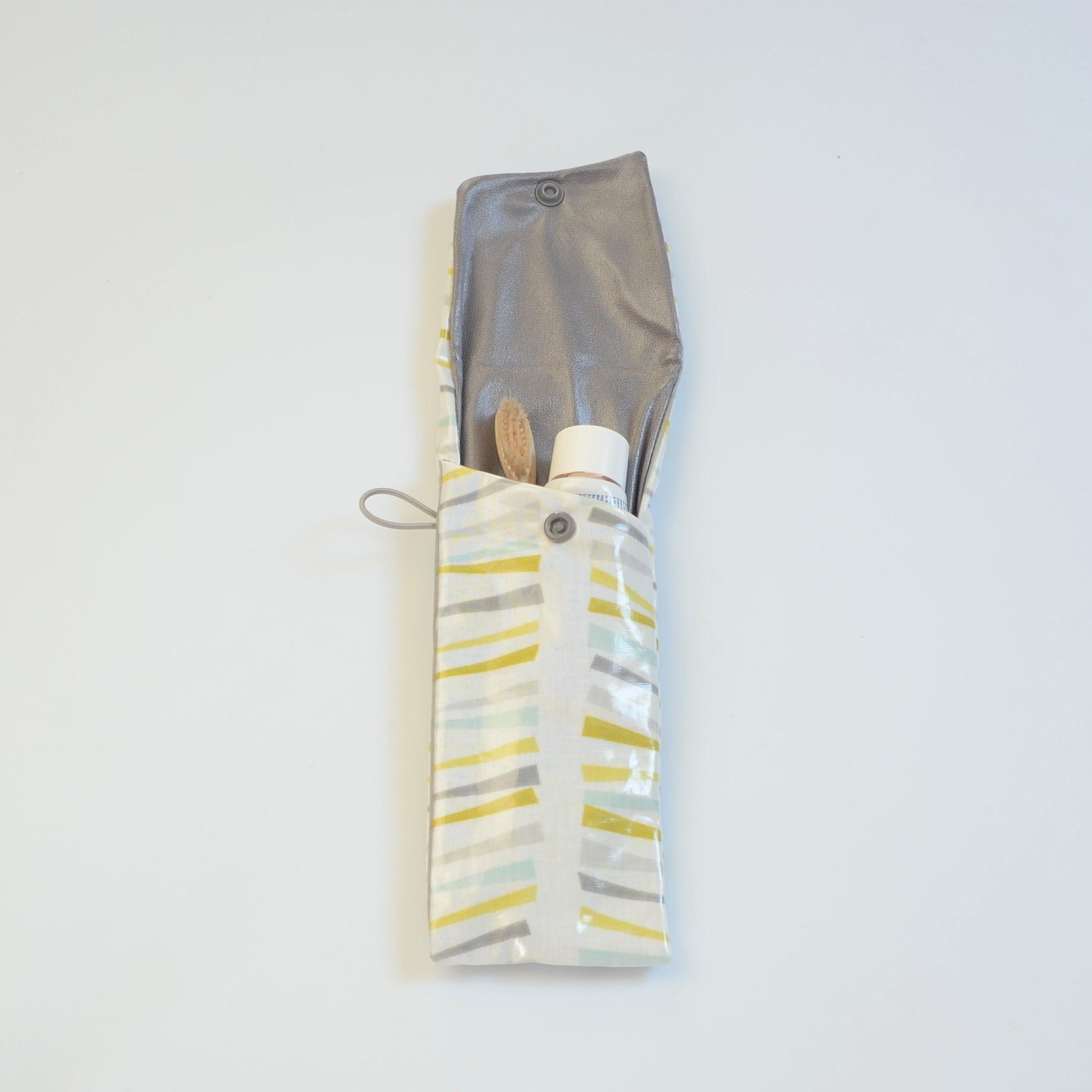Etui imperméable pour brosse à dent et dentifrice motif branche--9995971568608