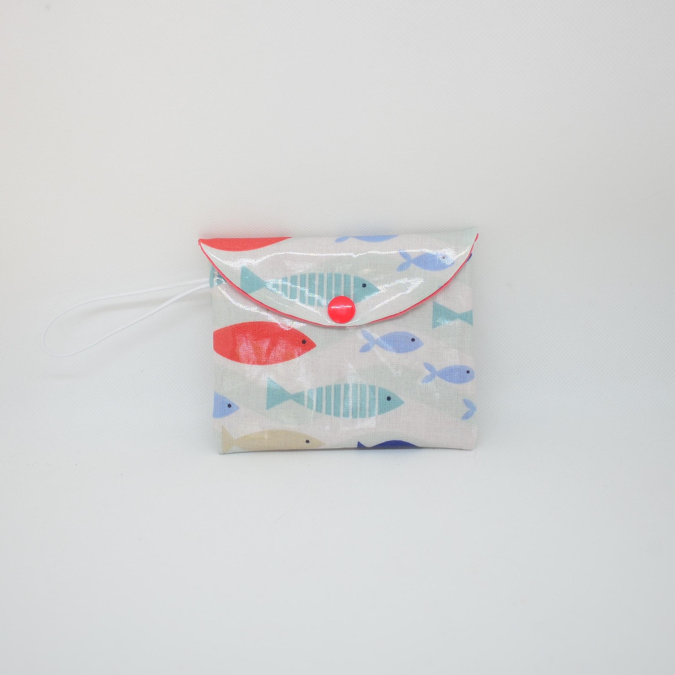 Etui imperméable  savon motif poissons--9995537142679