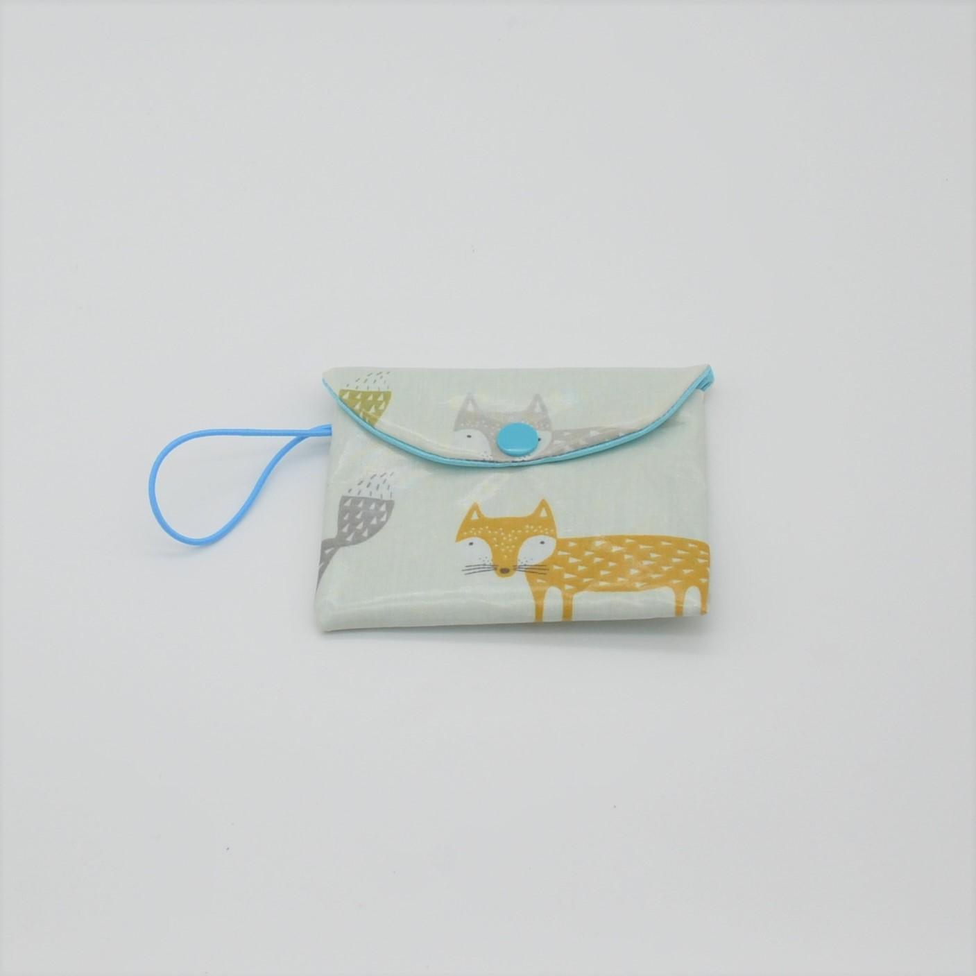 Etui imperméable savon motif renards--9995537141740