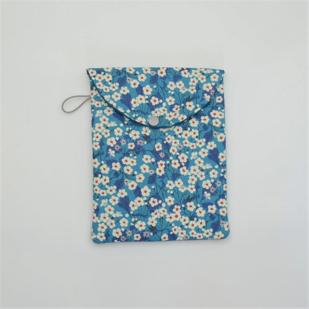 Etui liseuse/livre Liberty Mitsi blue deep--9996014083461