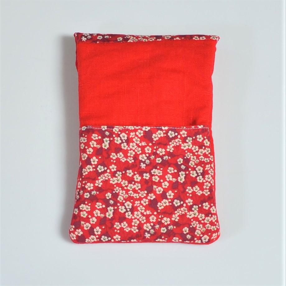 Etui portable Liberty Mitsi rouge--9995753096220