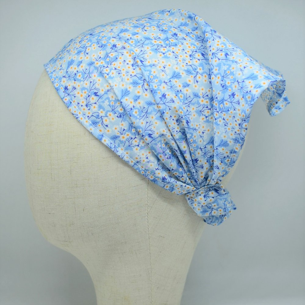 Fichu Mitsi valeria bleu taille unique 2-10 ans--9995595967351