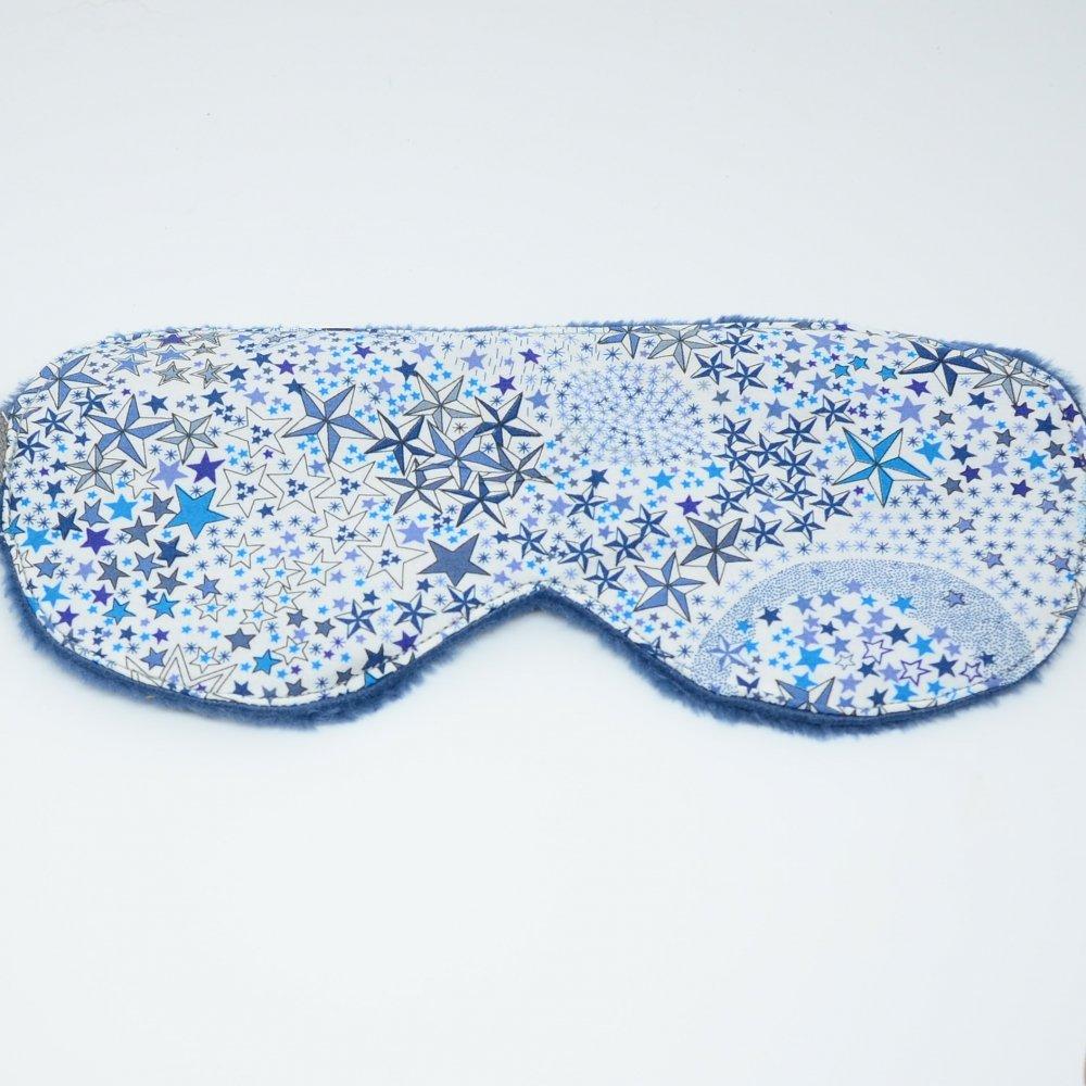 Masque de sommeil Liberty Adeladja bleu--9995881396803