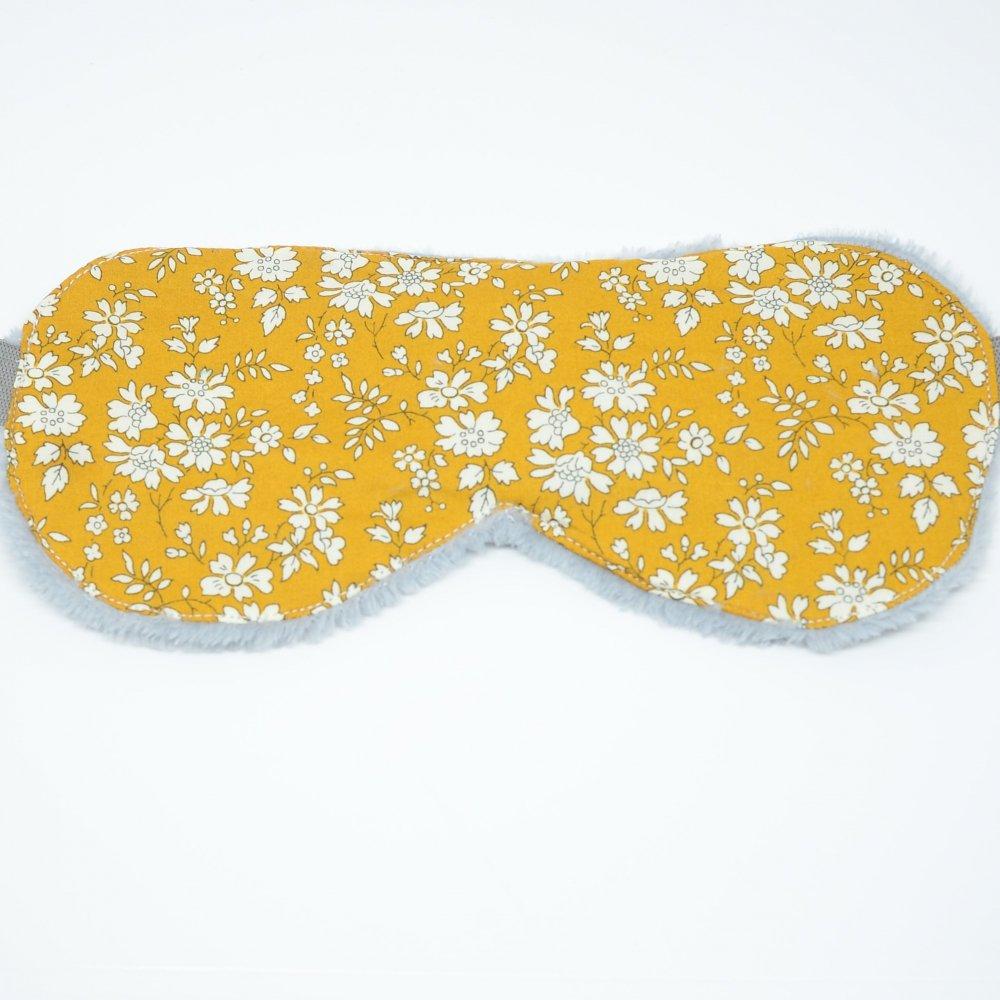Masque de sommeil Liberty Capel moutarde--9995409099377