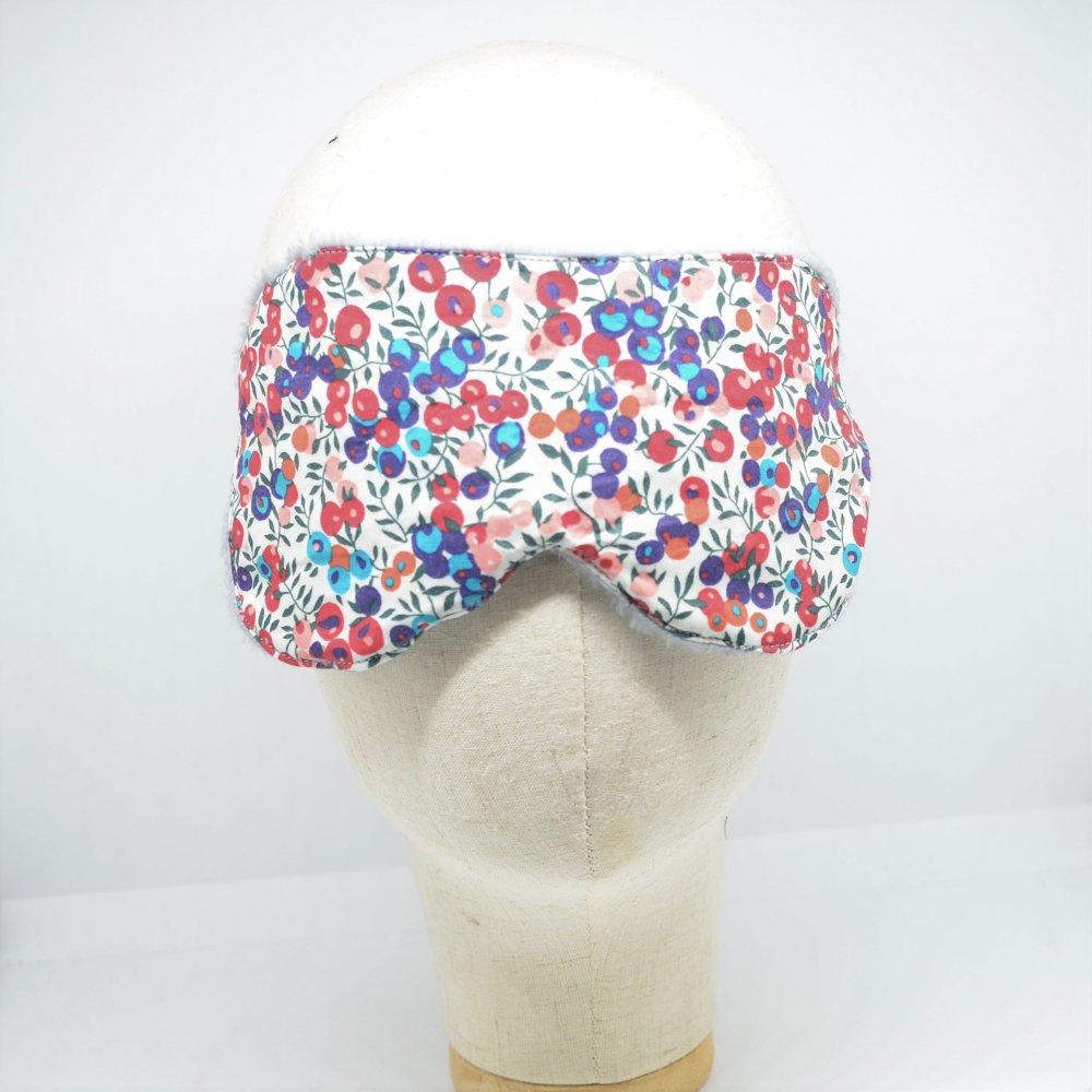 Masque de sommeil Liberty Wiltshire rouge et bleu--9995755842603