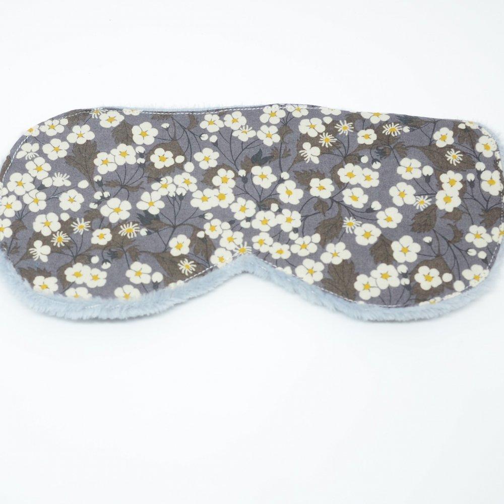 Masque de sommeil Liberty Mitsi gris--9995409105252