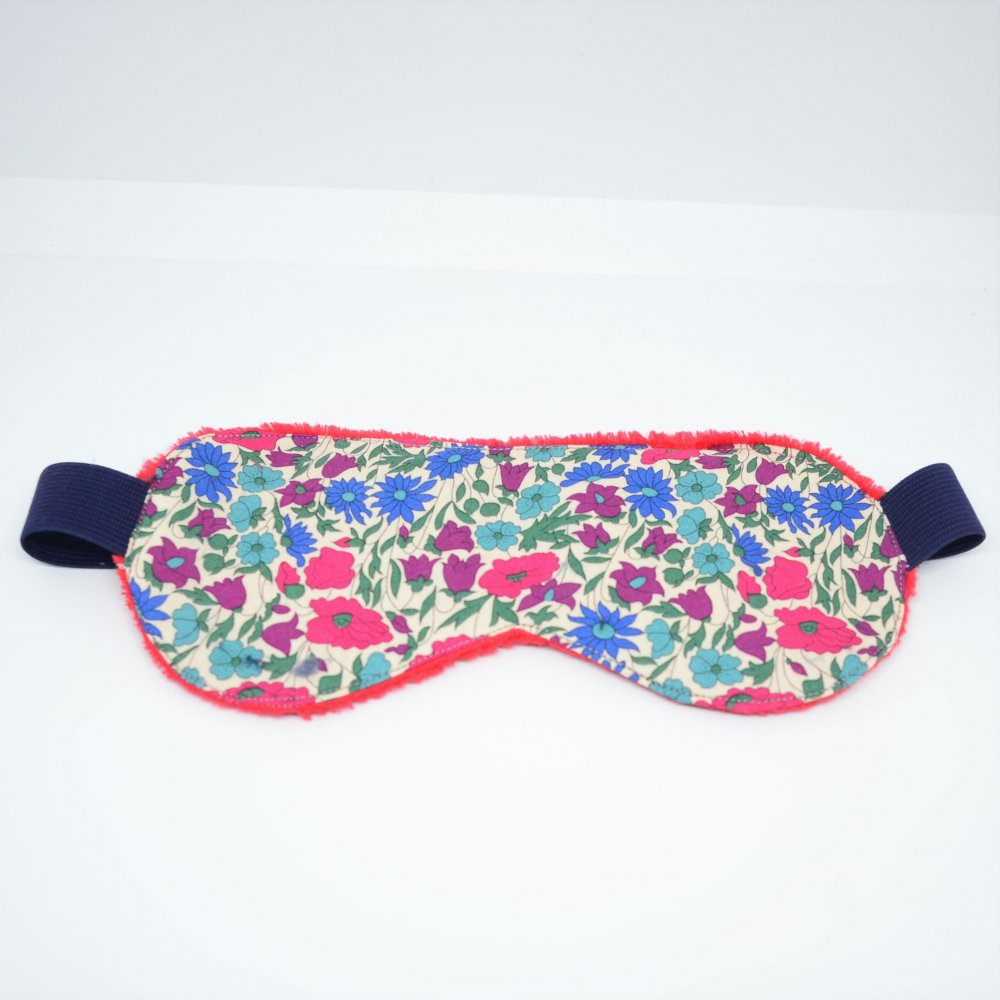 Masque de sommeil Liberty Poppy and daisy canard--9995755848940