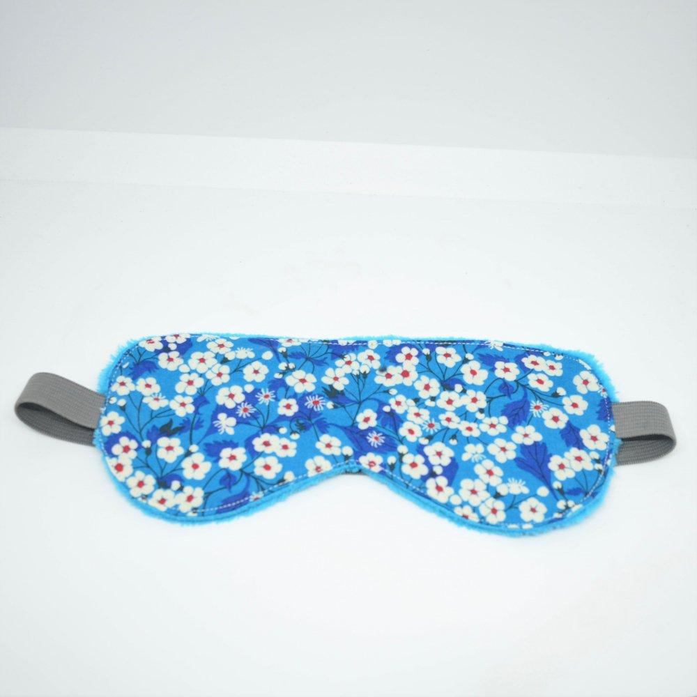 Masque de sommeil Liberty Mitsi Deep Blue--9995755840418
