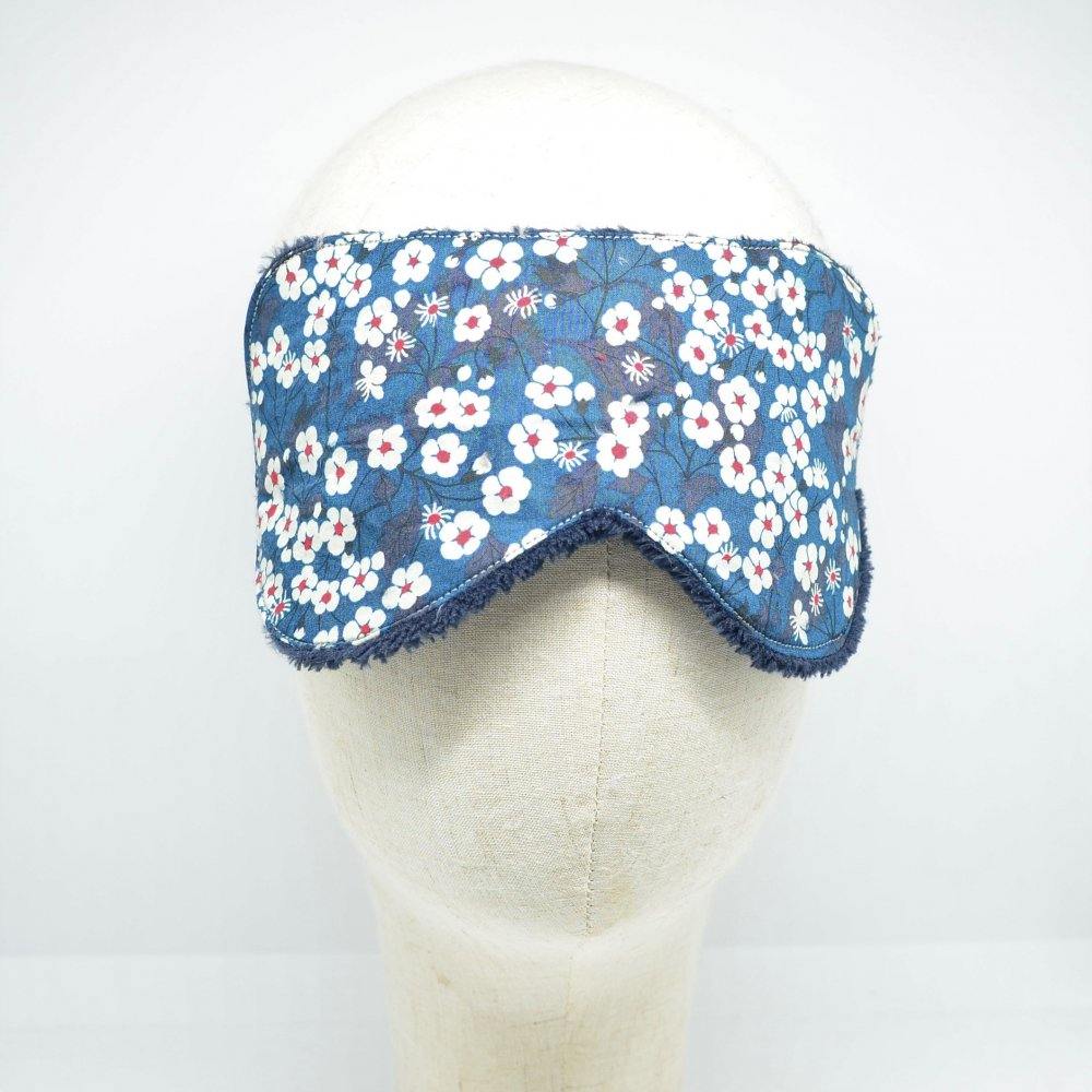 Masque de sommeil Liberty Mitsi bleu--9995880542300