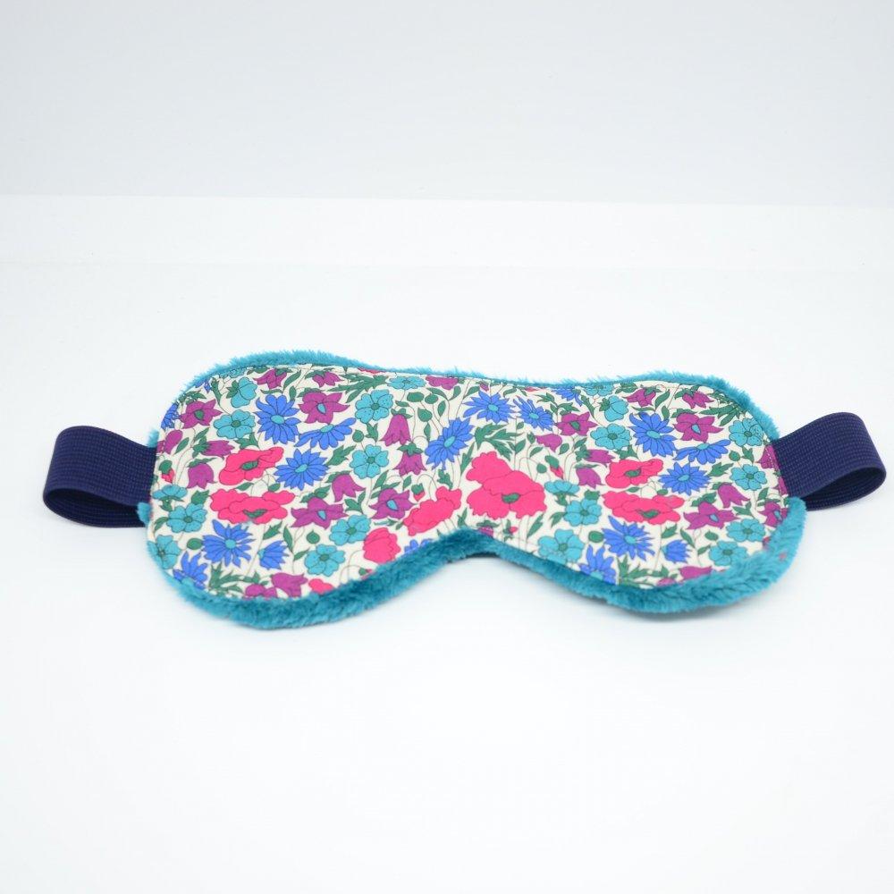 Masque de sommeil Liberty Poppy and daisy canard--9995755843952