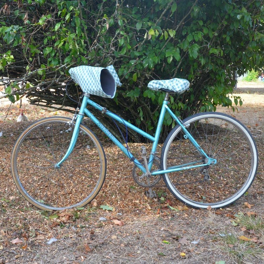 Protege mains guidon vélo impermeable et doublé polaire enduit japonais et polaire grise--9995411088734