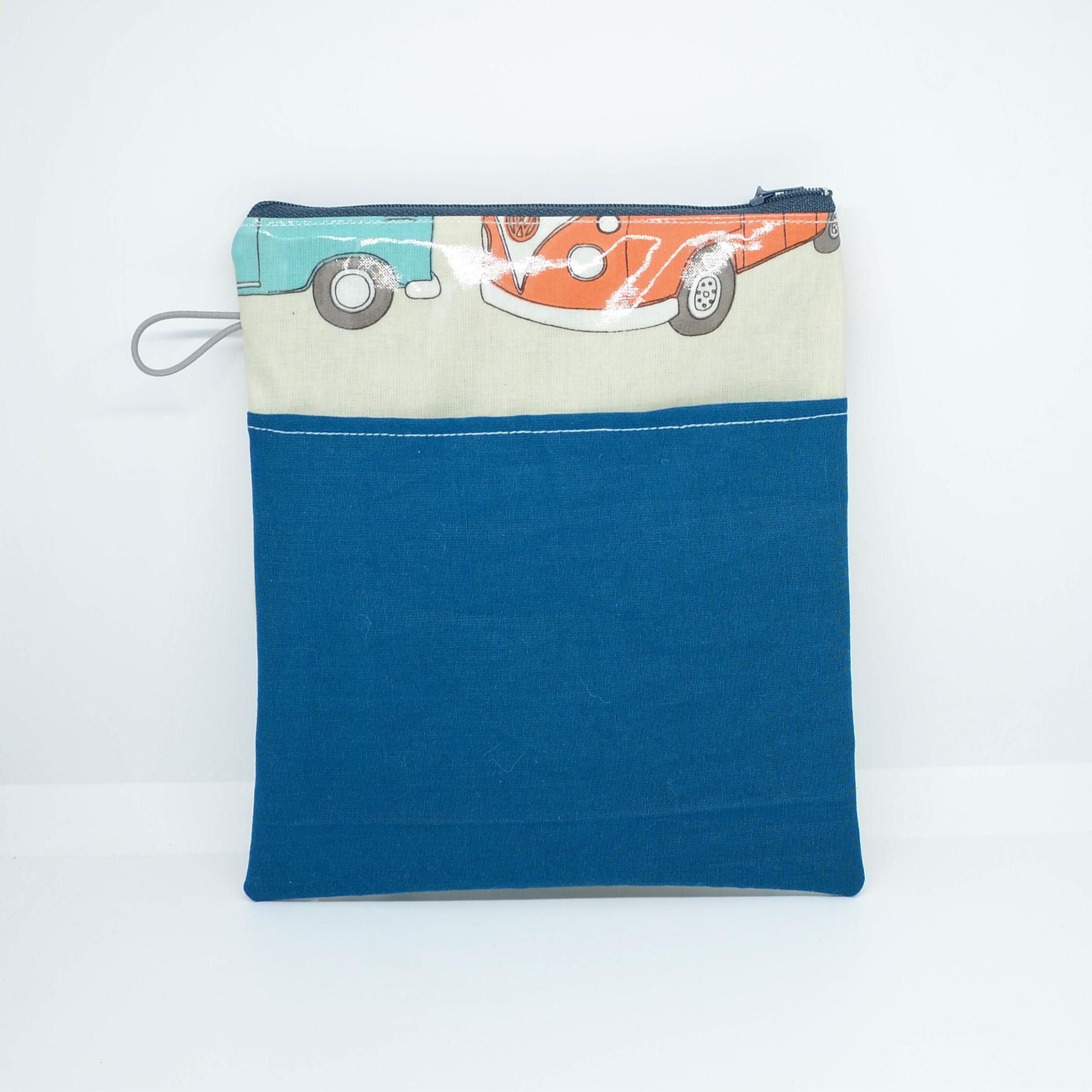 Tousse pour transporter ses lingettes propres et à nettoyer, enduit combi--9995747578268