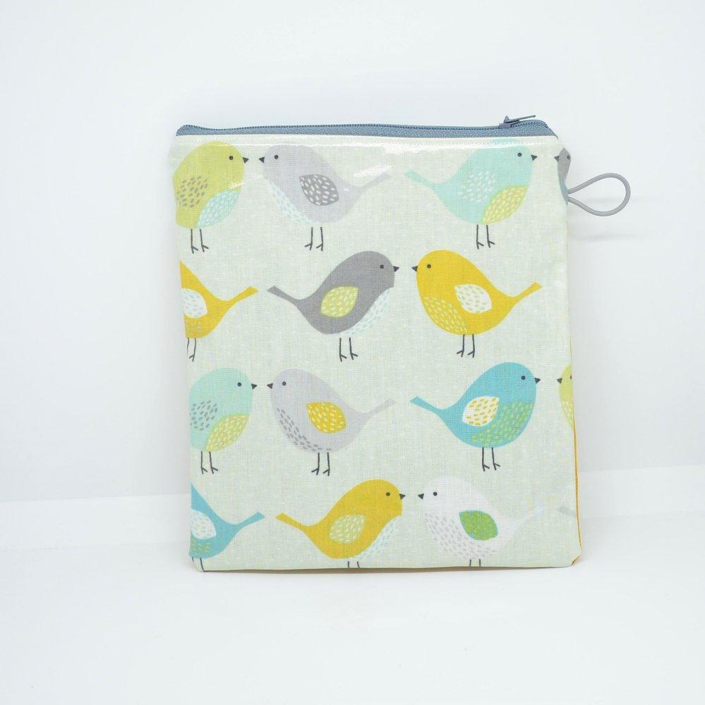 Tousse pour transporter ses lingettes propres et à nettoyer, enduit oiseaux--9995747577056