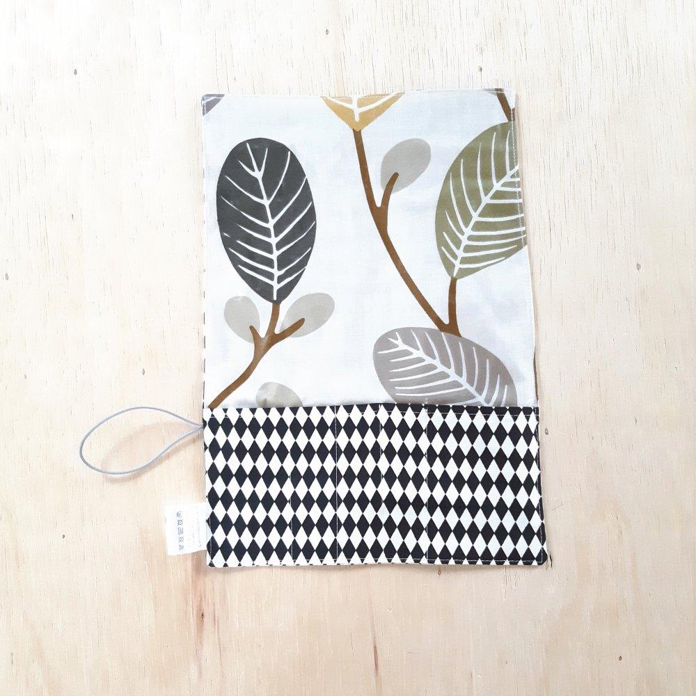 Trousse imperméable pour transporter les couverts feuilles--2226204017141