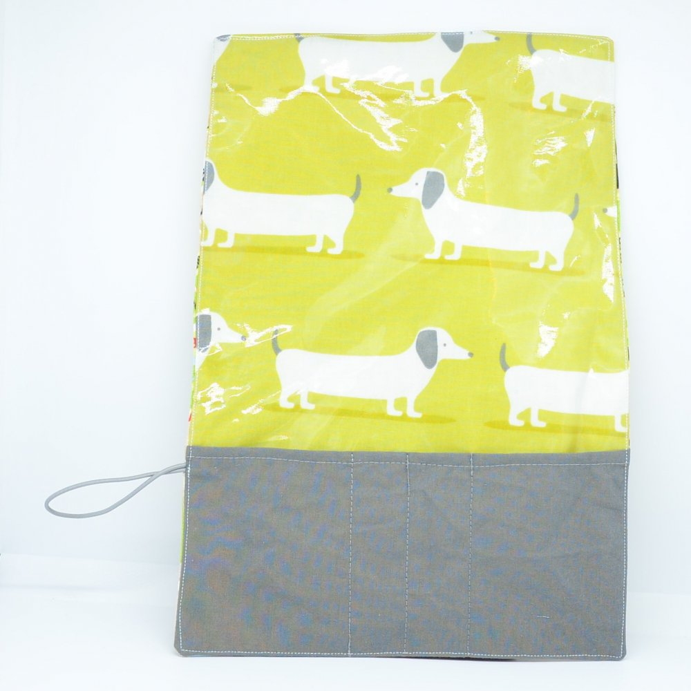 Trousse imperméable pour transporter les couverts Londres/chien--9995659807982