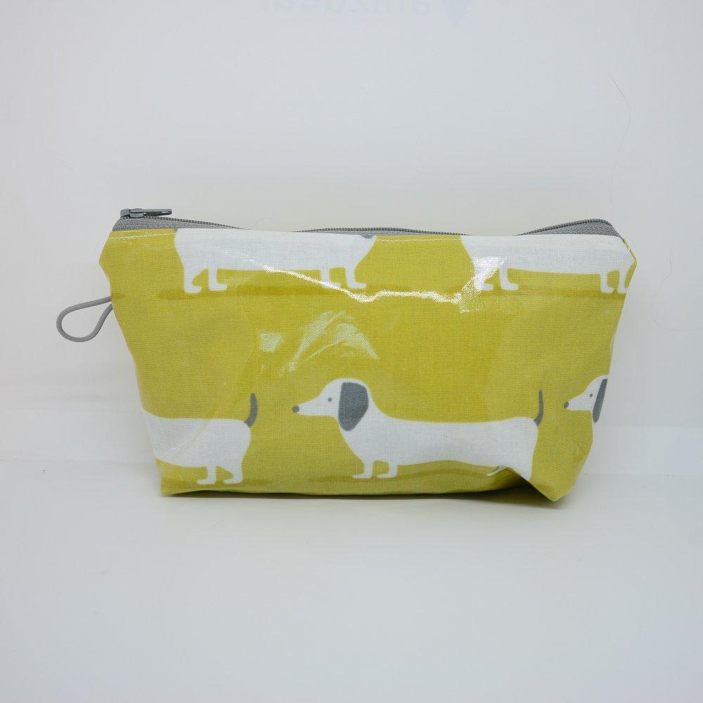 Trousse maxi imperméable, motif chien--9995657613929