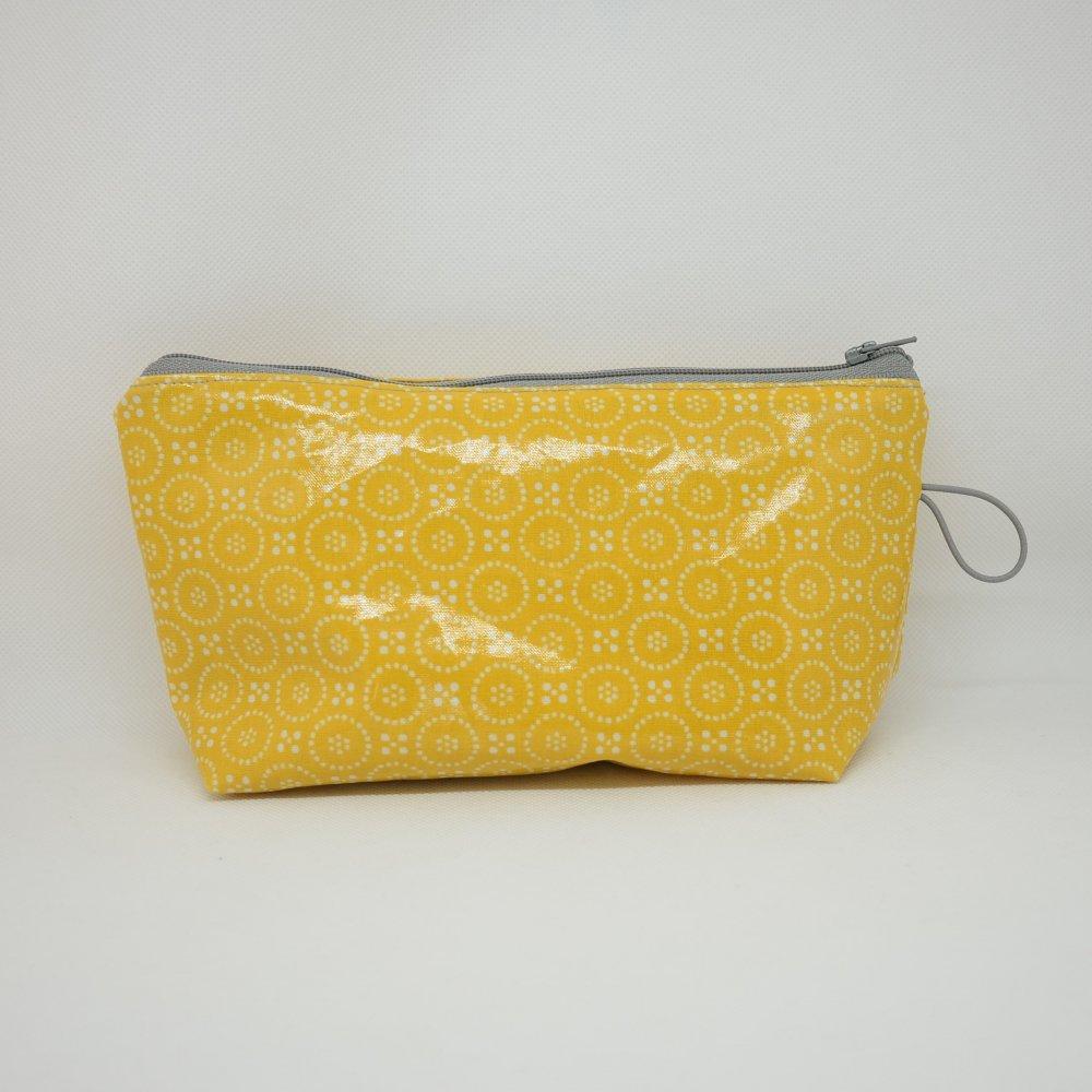 Trousse maxi imperméable, moutarde--9995655874988