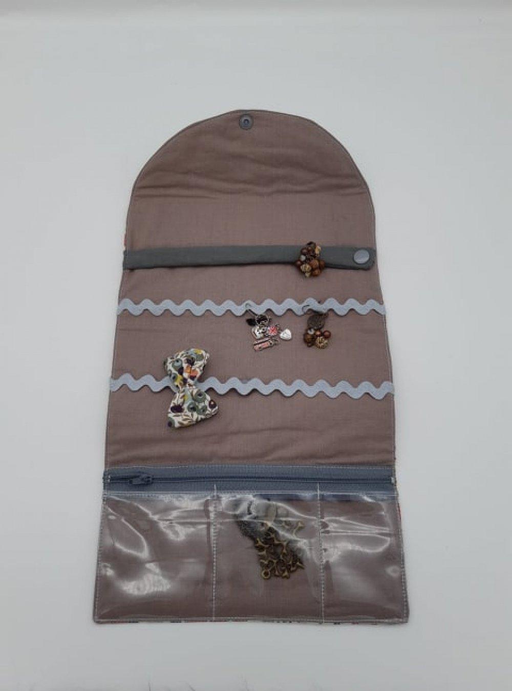 Trousse nomade rangement pour bijoux Liberty Betsy automne--9995753126170