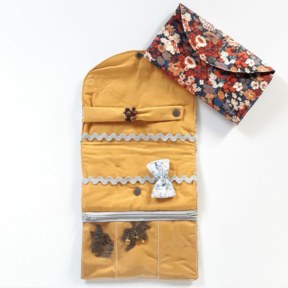 Trousse nomade rangement pour bijoux Liberty thorpe automne--2226251171223