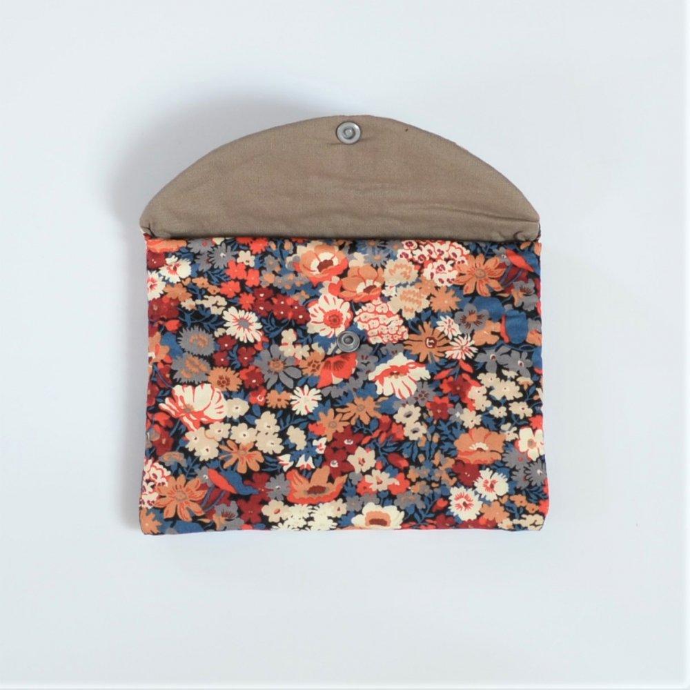 Trousse plate doublée Liberty Thorpe automne--9996053843231