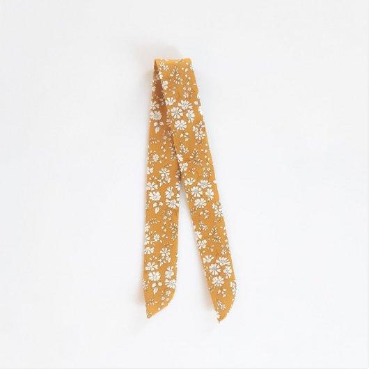 Bracelet à nouer Liberty Capel moutarde pour cadran montre