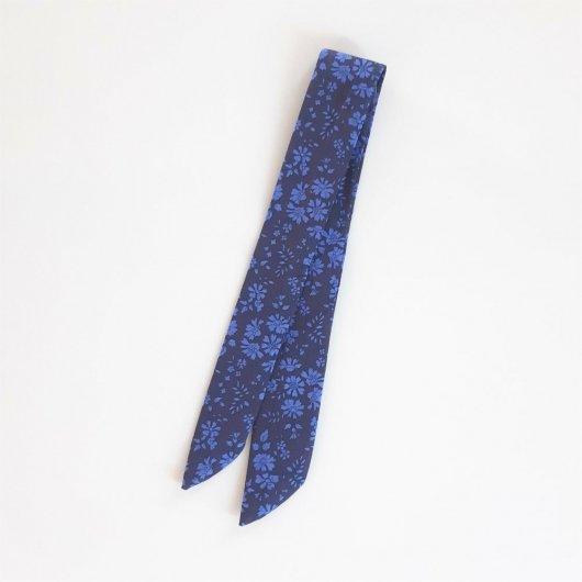 Bracelet à nouer Capel bleu nuit pour cadran montre