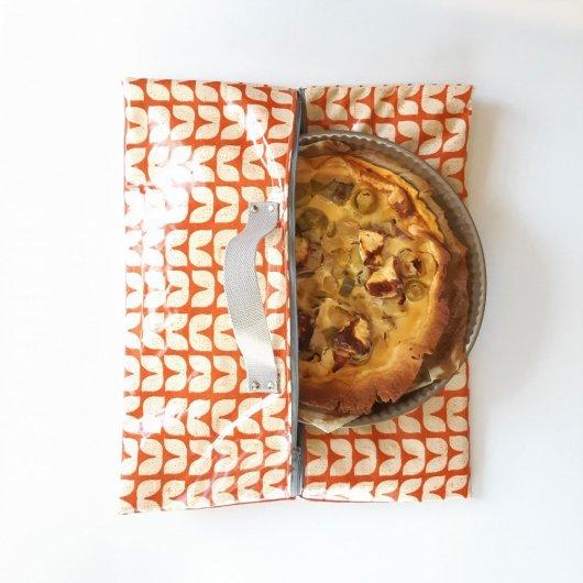 Sac à tarte isotherme et zip Vintage