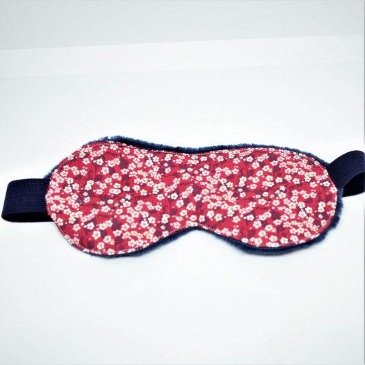 Masque de sommeil Liberty Mitsi valeria rouge