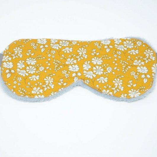 Masque de sommeil Liberty Capel moutarde