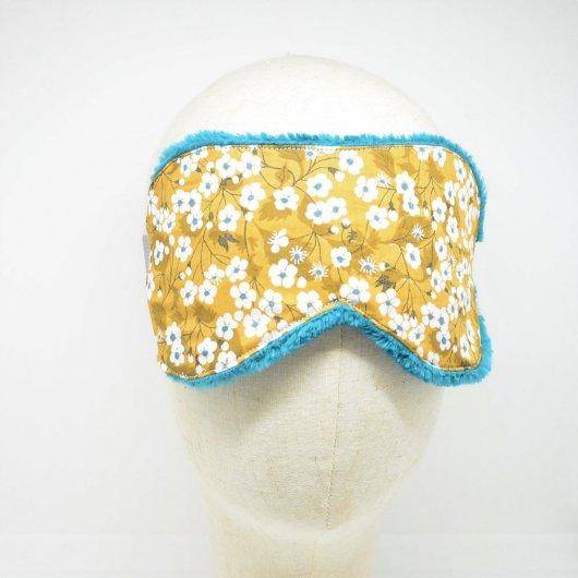 Masque de sommeil Liberty Mitsi moutarde