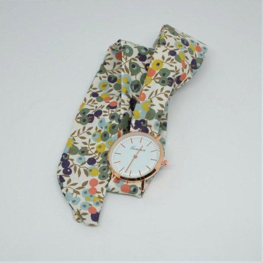 Montre à nouer bracelet Liberty Wiltshire automne