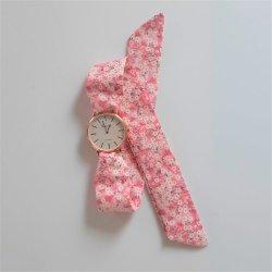 Montre à nouer bracelet Liberty Mitsi valeria rose