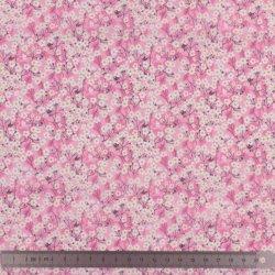 Couverture doudou Liberty Mitsi valeria rose