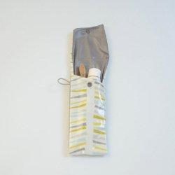 Etui imperméable pour brosse à dent et dentifrice motif branche