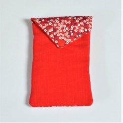 Pochette portable Liberty Mitsi rouge