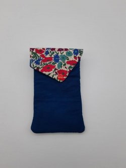 Etui portable Liberty Poppy and daisy canard